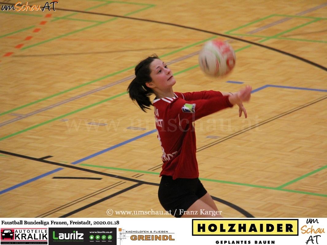 Foto Union compact Freistadt Frauen Faustball Bundesliga