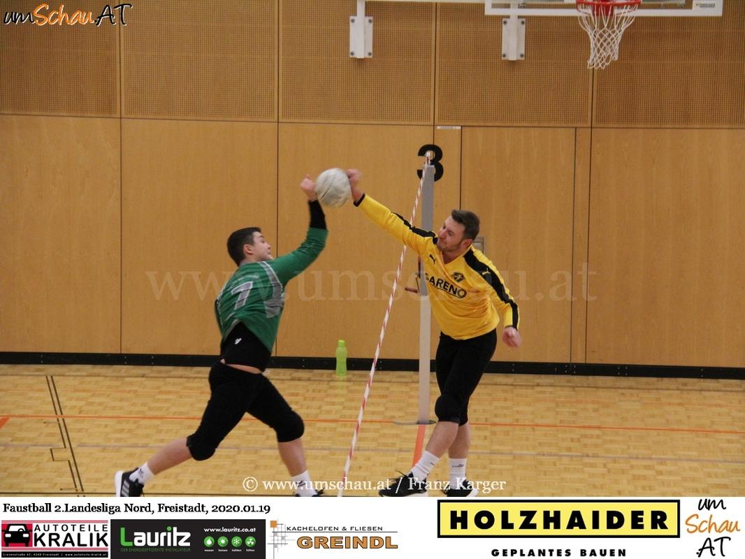 Foto 2. Faustball Hallenlandesliga Nord