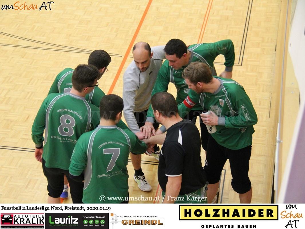 Foto 2. Faustball Hallenlandesliga Union Waldburg