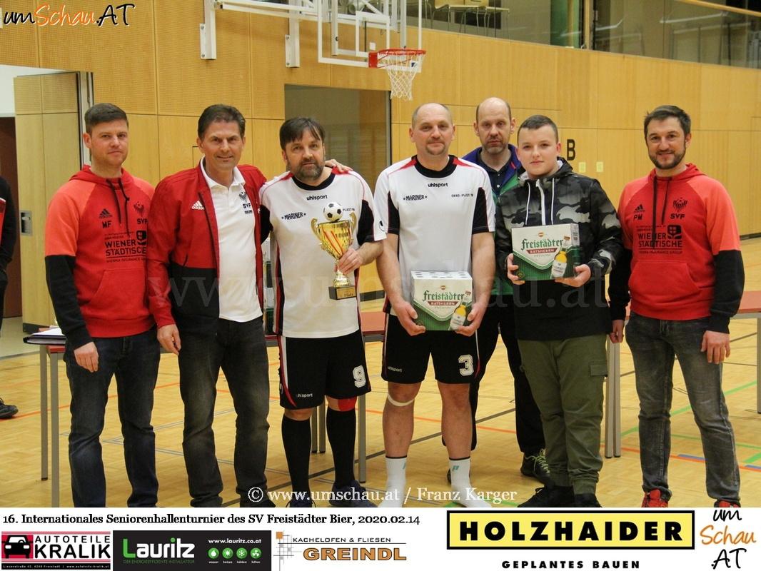 Foto Seniorenturnier SV Freistädter Bier Ctyri Dvory