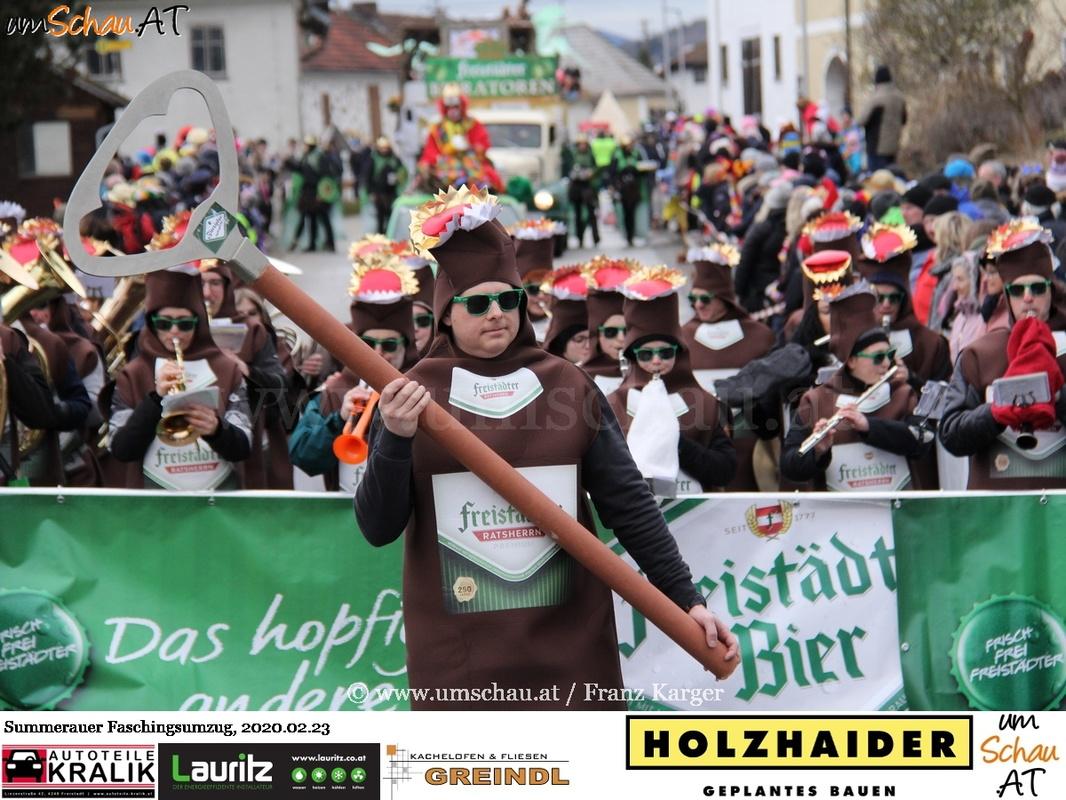 Foto Summerauer Faschingsumzug