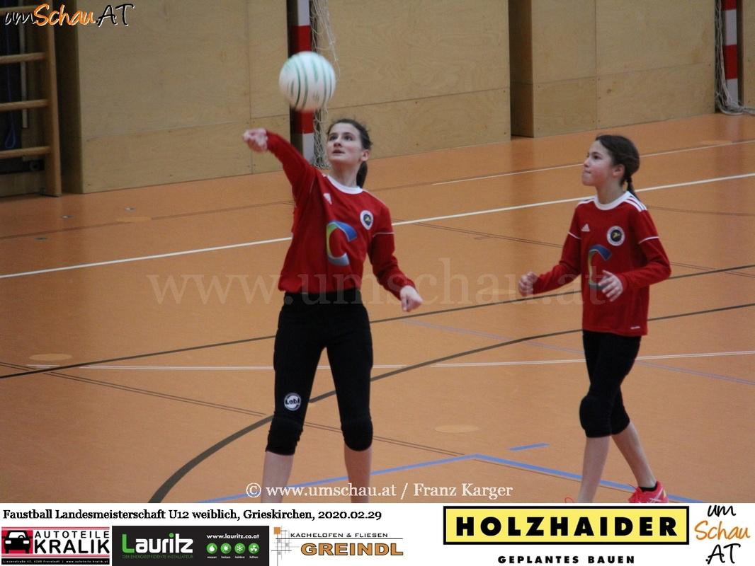 Foto Union compact Freistadt Faustball Landesmeisterschaft U12 weiblich