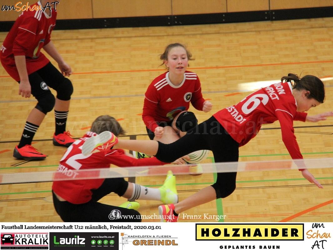 Foto U12 männlich Union compact Freistadt Landesmeisterschaft