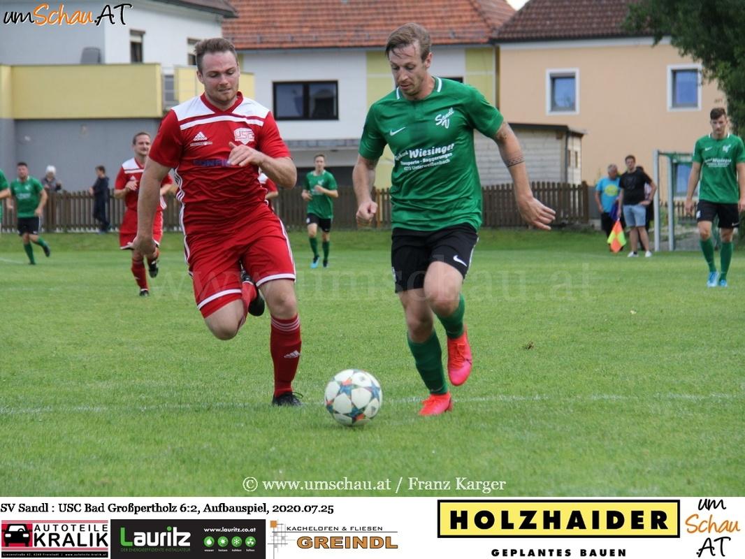 Foto SV Sandl vs. Bad Großpertholz, (c) www.umschau.at / Franz Karger