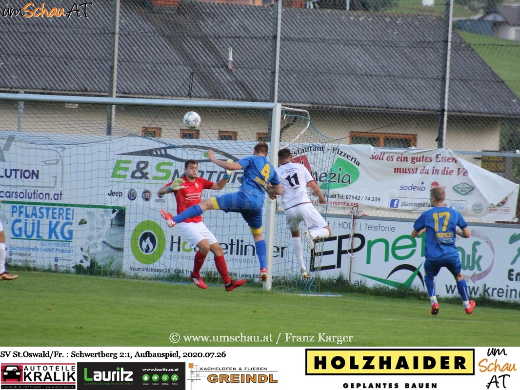 Foto USV St.Oswald/Freistadt vs. ASKÖ Schwertberg / (c) www.umschau.at / Franz karger
