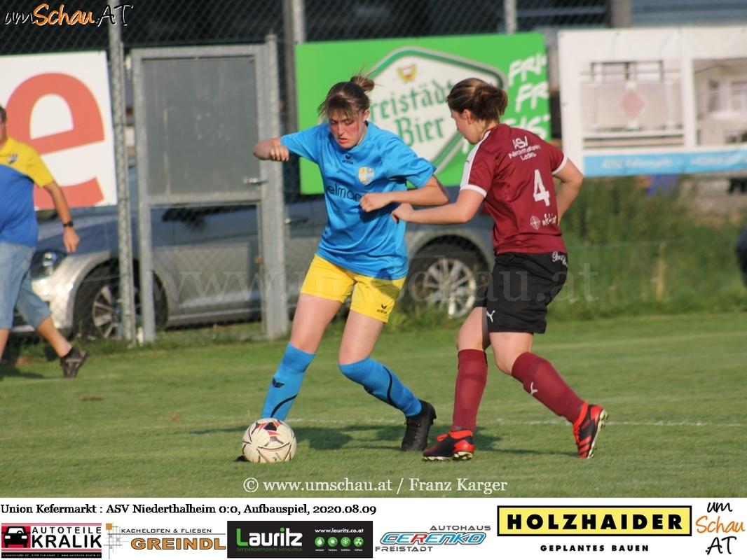 Foto Union Kefermarkt vs. ASV Niederthalheim Damenfussball