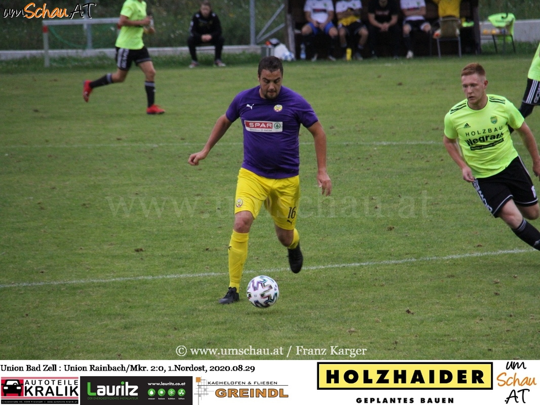Foto Union Bad Zell vs. Union Rainbach/Mkr. 1.Nordost