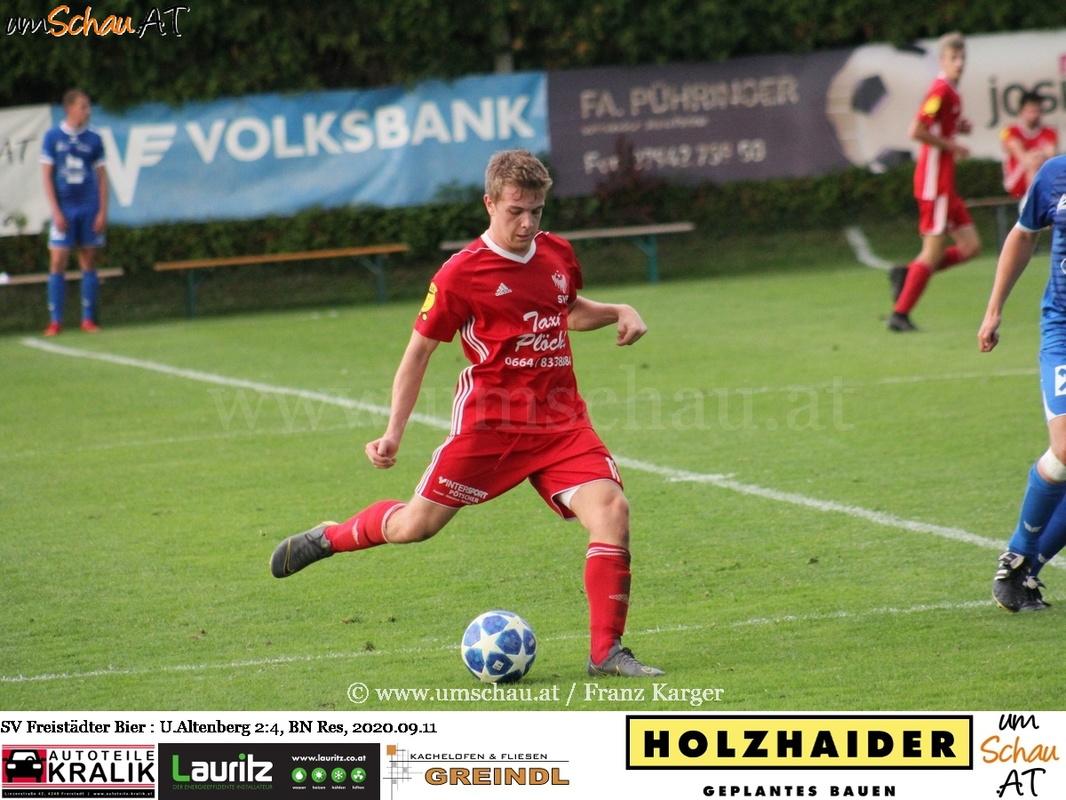 Foto SV Freistädter Bier : UNion Altenberg Bezirksliga Nord Reserve