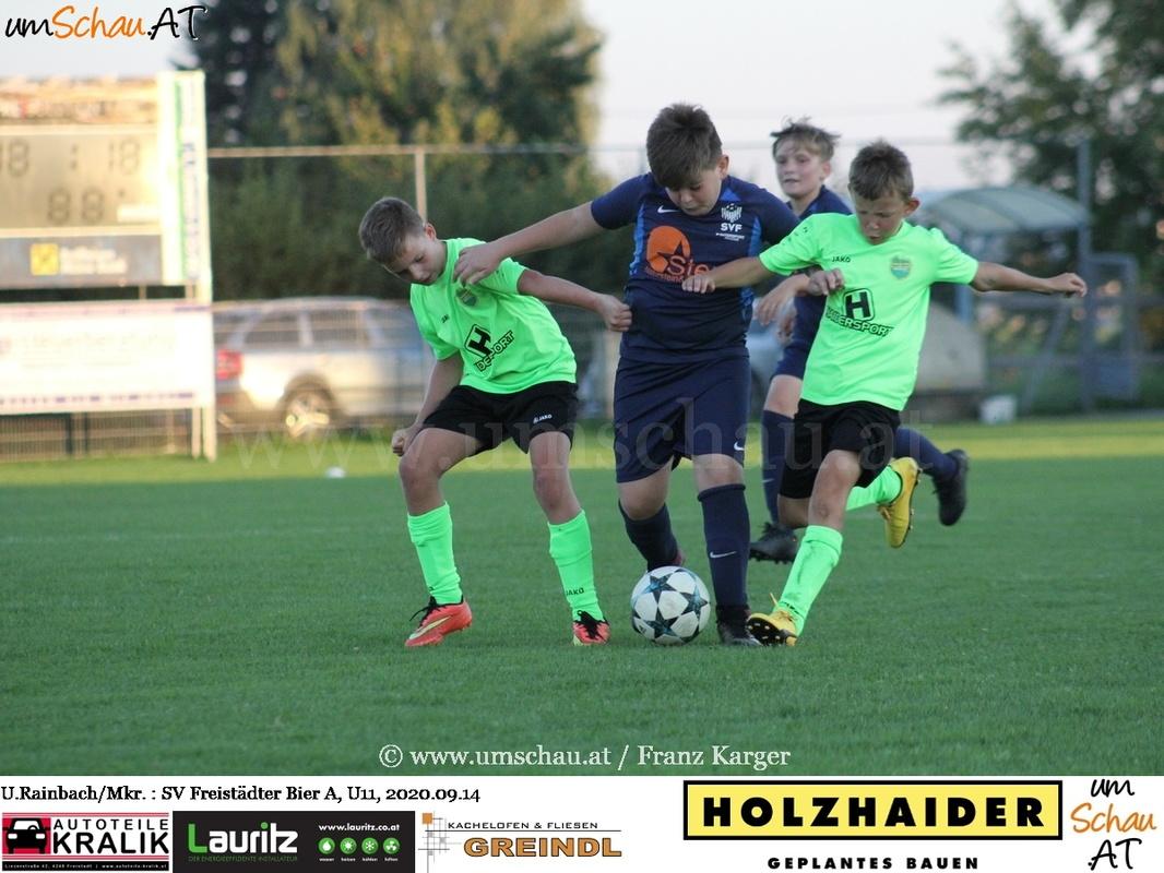 Foto Union Rainbach/Mkr. vs SV Freistädter Bier
