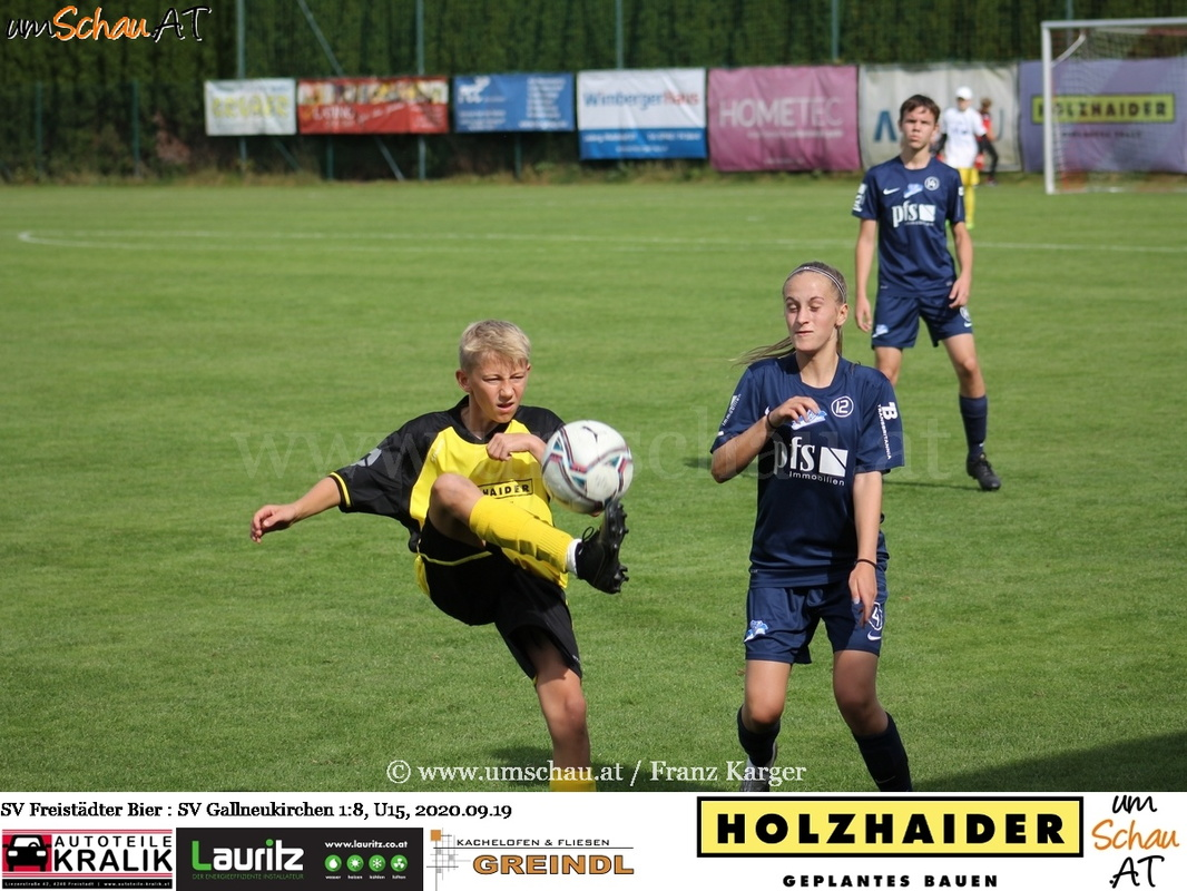 Foto U15 SV Freistädter Bier vs. SV Gallneukirchen