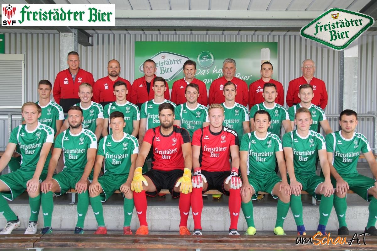 Foto SV Freistädter Bier Kader Bezirksliga Nord 2018/19