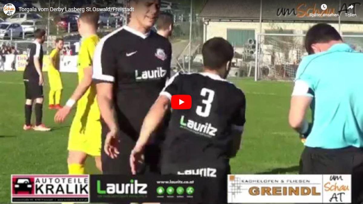 Youtube Video vom Spiel Lasberg : St.OSwald/Freistadt